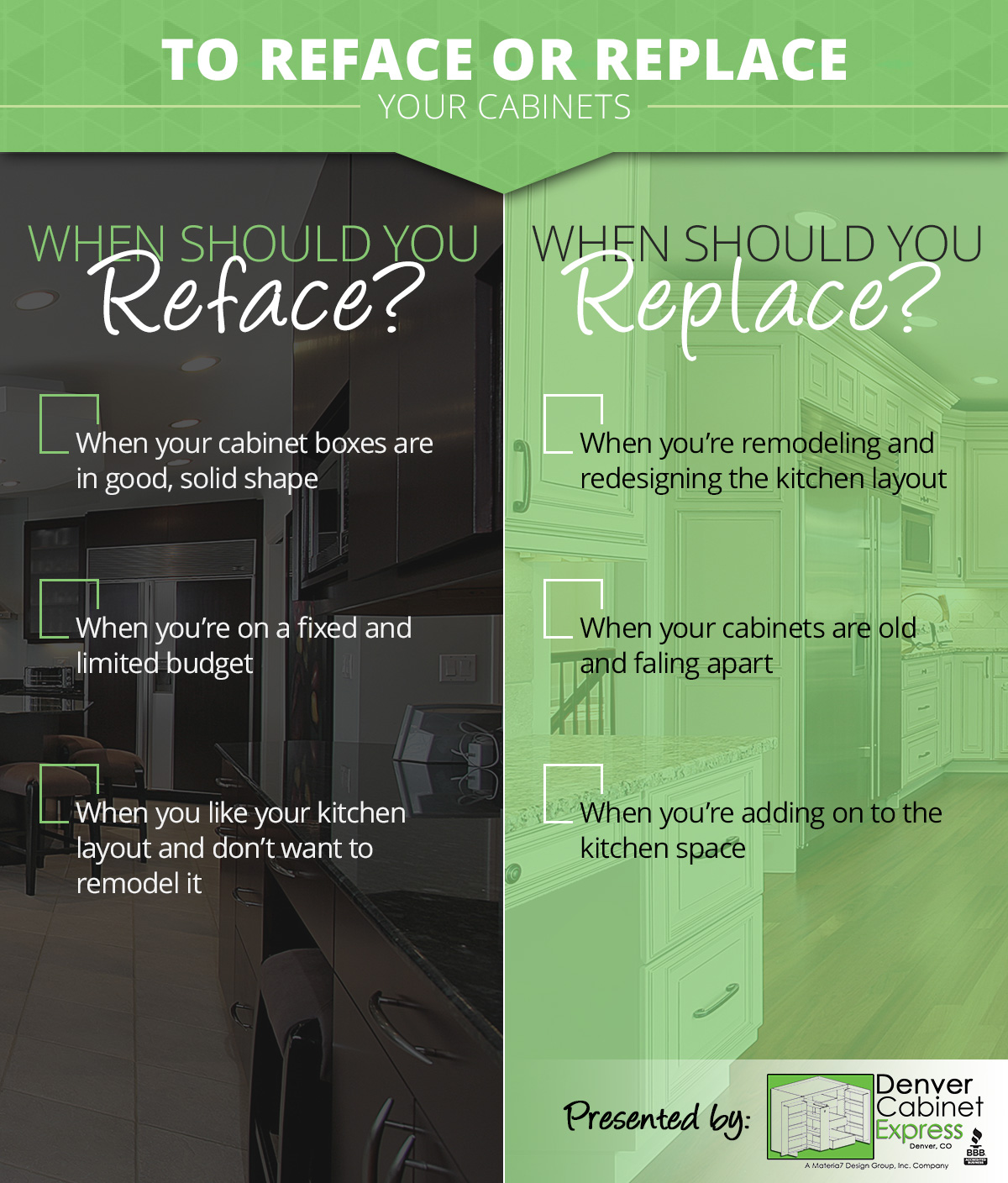 Reface Or Replace Kitchen Cabinets: To Reface Or Replace?: Common Questions In Cabinetry