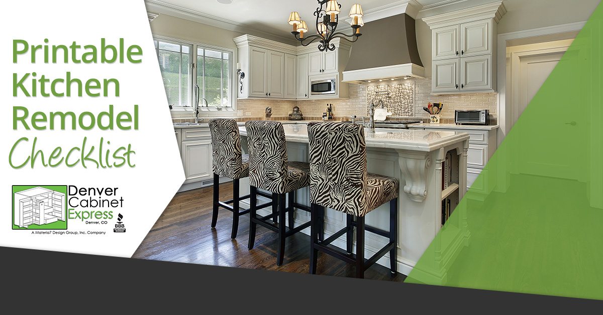 if you are planning a kitchen remodel whether you are just replacing cabinets or going all out and replacing everything from floor to ceiling - Kitchen Remodel Checklist