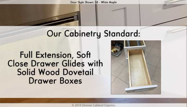 Soft Close Drawers
