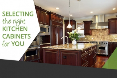Selecting The Right Kitchen Cabinets For You
