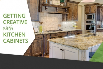 Getting Creative with Kitchen Cabinets